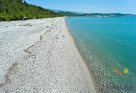 Пляж Лидзава, Абхазия