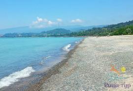 Пляж Синопский, Абхазия